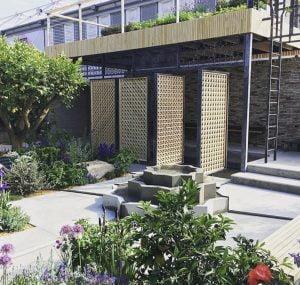Lemon Tree Trust garden, 2018 RHS Chelsea Flower Show