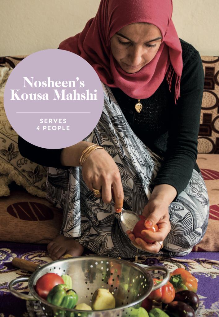 Nosheen's Kousa Mahshi recipe card cover