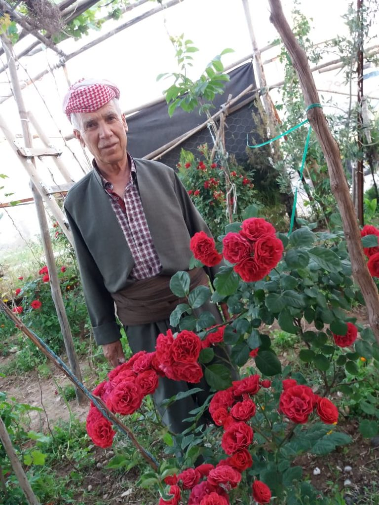 2019 Lemon Tree Trust garden competitions - Domiz 1 camp runner-up - Abd Rahman Shahin