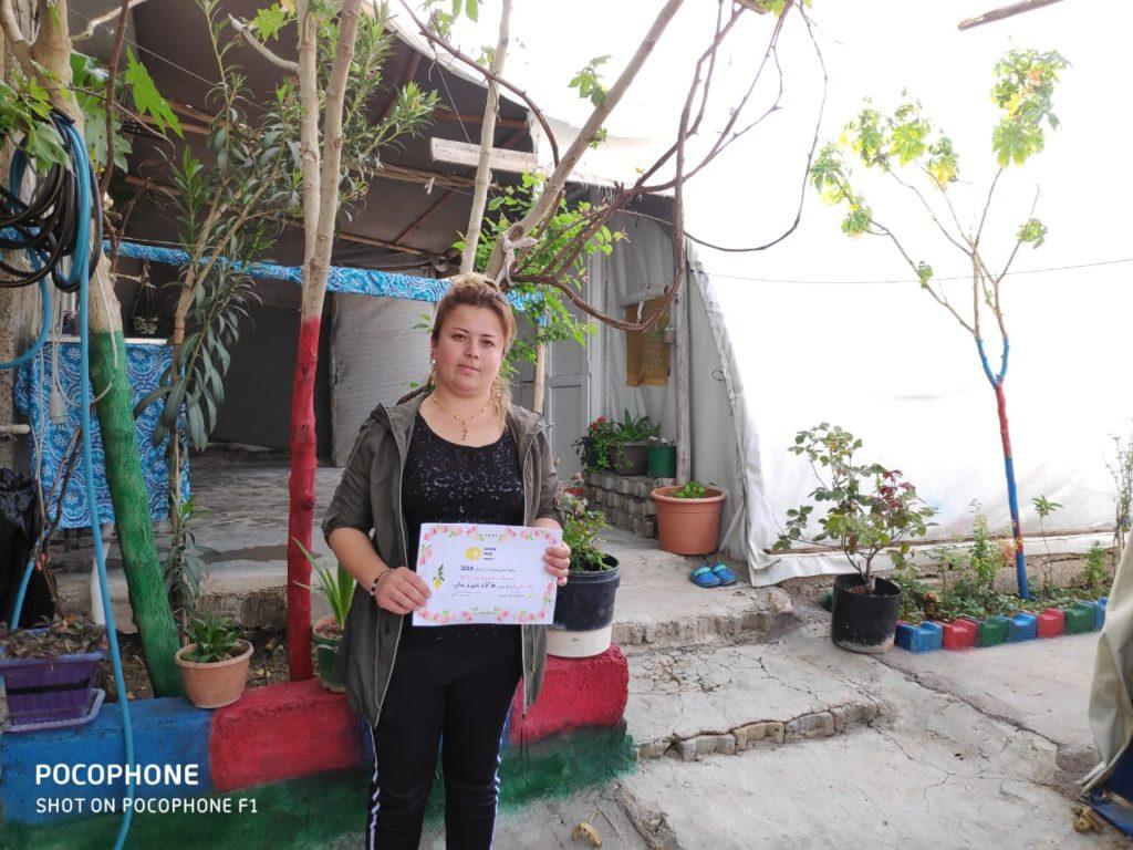 2019 Lemon Tree Trust garden competitions - Essian camp 2nd prize winner - Abdo Ali