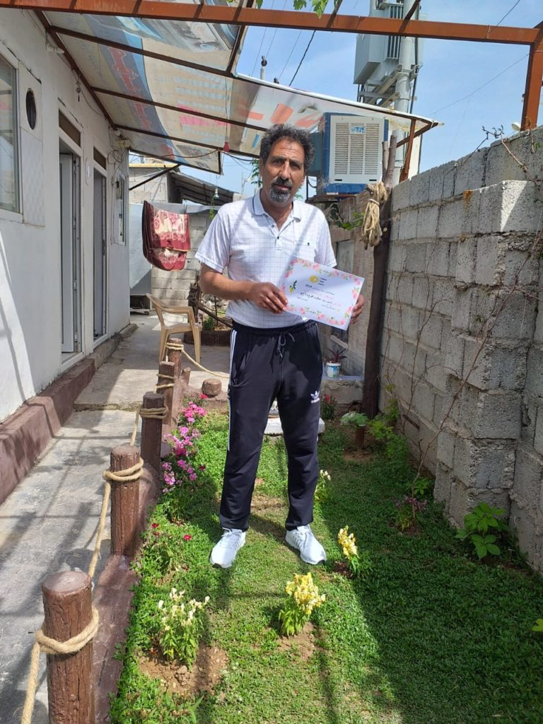 2019 Lemon Tree Trust garden competitions - Gawillan camp - 2nd place prize winner - Alaa Ebo