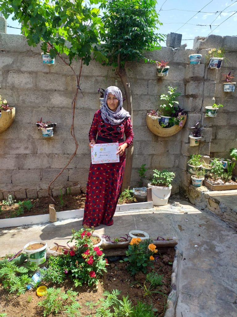 2019 Lemon Tree Trust garden competitions - Gawillan camp - runner-up - Atya Fatah