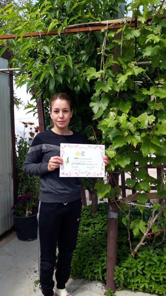 2019 Lemon Tree Trust garden competitions - Khanki camp - 2nd place prize winner Bardo Murad