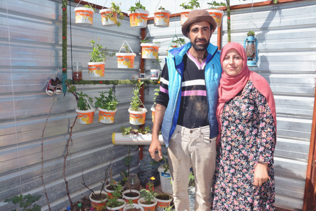 2019 Lemon Tree Trust garden competitions - Domiz 1 camp 1st place winner - Salar Haji