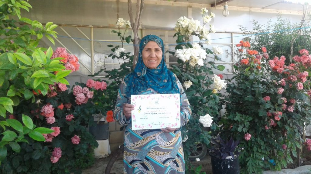 2019 Lemon Tree Trust garden competitions - Domiz 1 camp 3rd prize - Faima Hasan