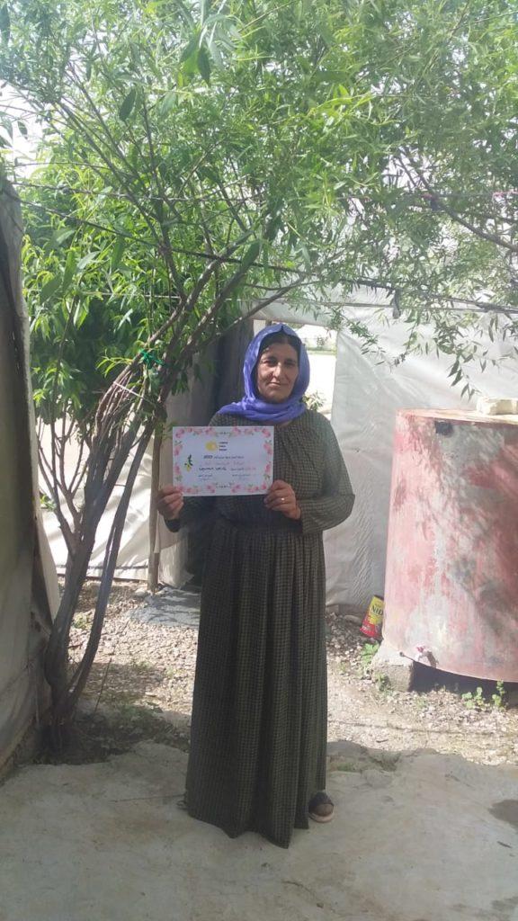 2019 Lemon Tree Trust garden competitions - Kabartu 2 camp - 1st place prize winner Fars Hssin