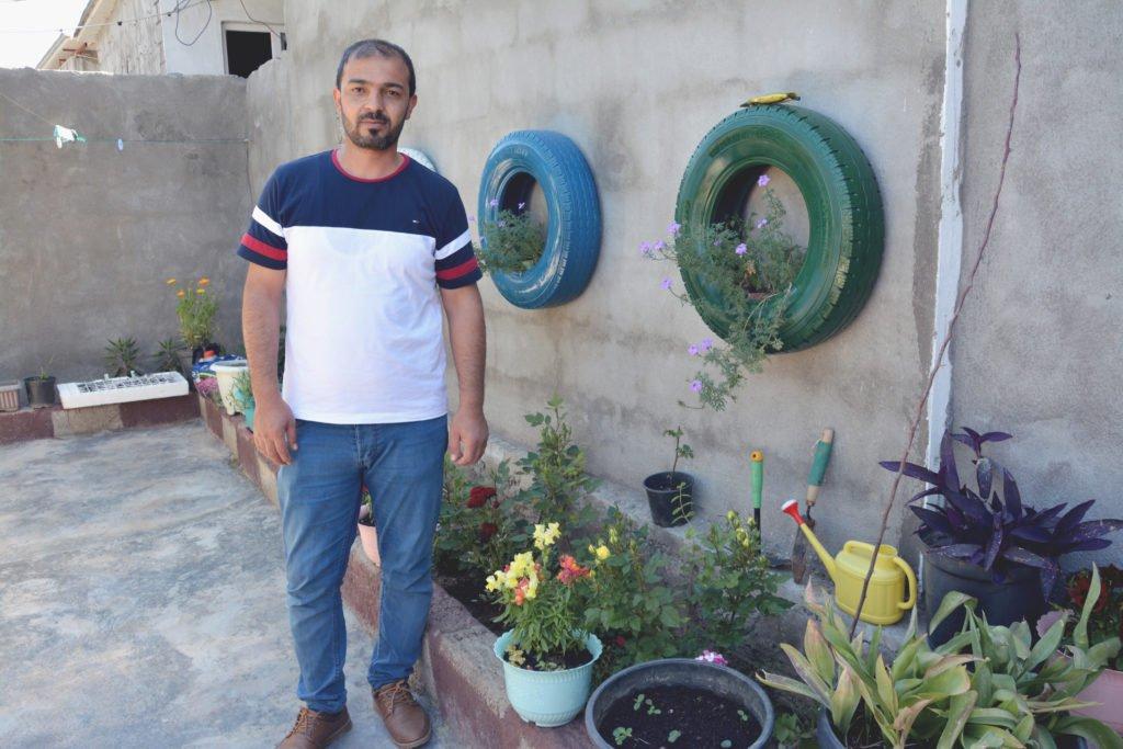 2019 Lemon Tree Trust garden competitions - Gawillan camp - 3rd place prize winner - Khidher Henefi Ibrahim