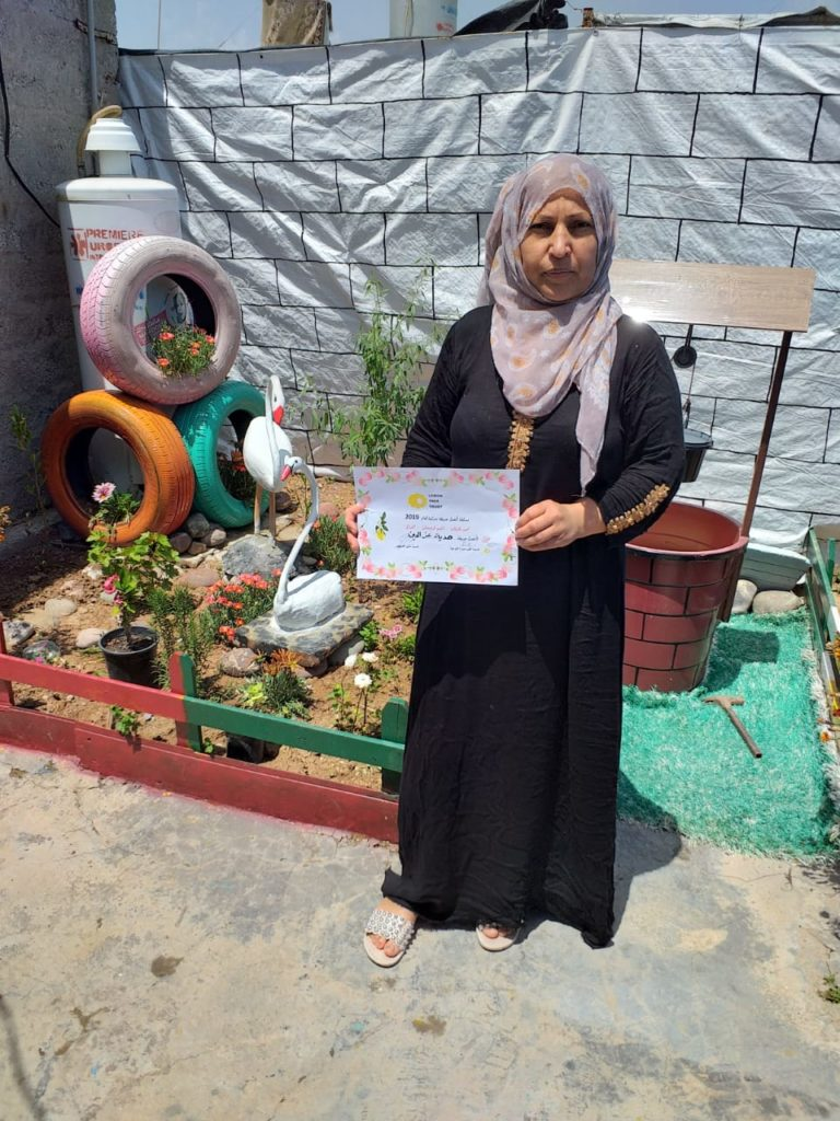 2019 Lemon Tree Trust garden competitions - Gawillan camp - runner-up - Hadya Ismail