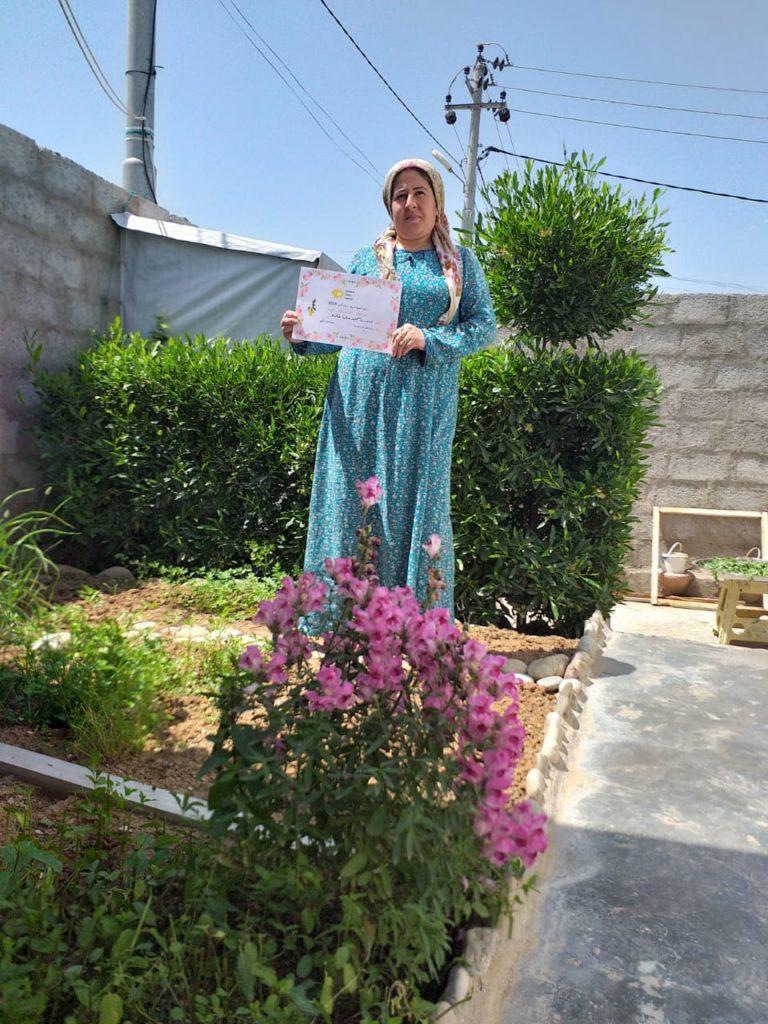 2019 Lemon Tree Trust garden competitions - Gawillan camp - runner-up - Hamo Qader