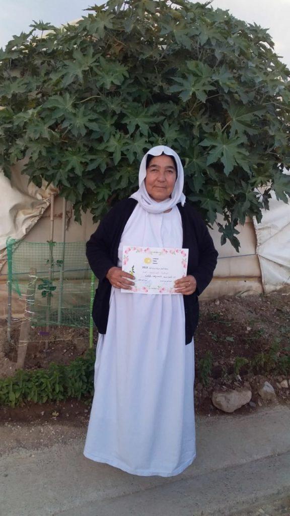 2019 Lemon Tree Trust garden competitions - Kabartu 1 camp - runner-up Hssin Khalaf