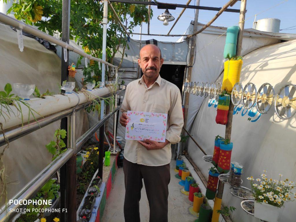 2019 Lemon Tree Trust garden competitions - Essian camp 1st prize winner - Ibrahim Qasim