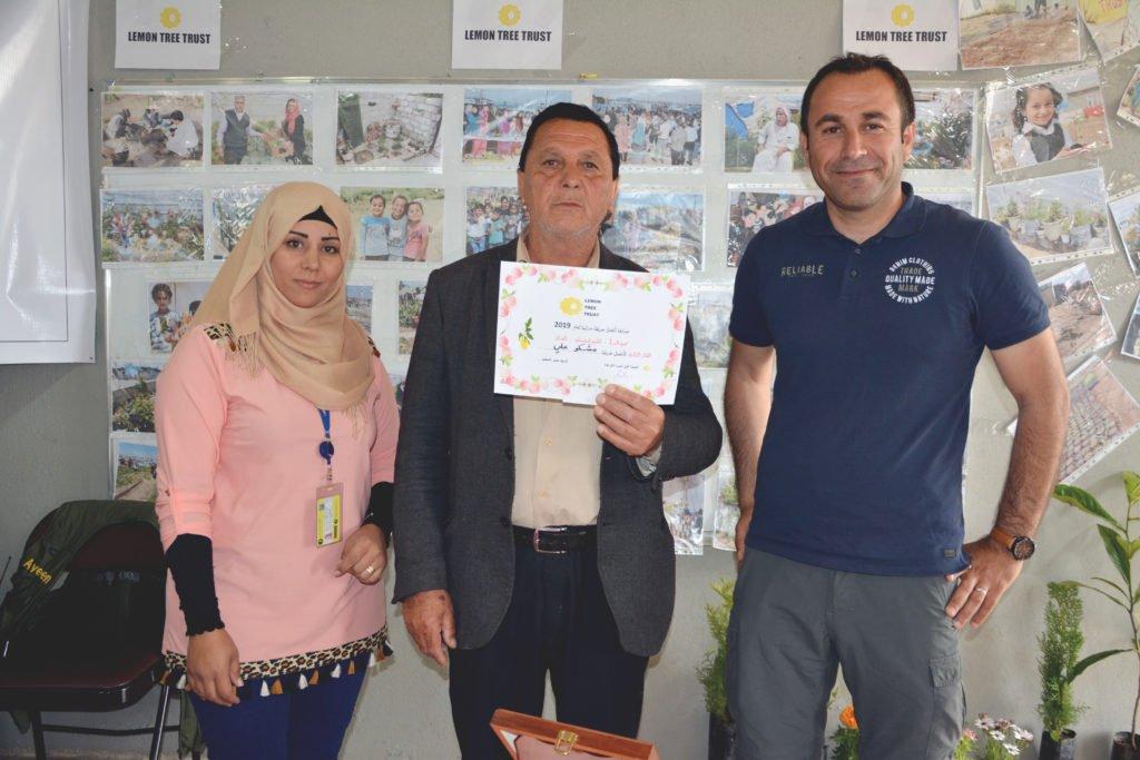 2019 Lemon Tree Trust garden competitions - Kabartu 1 camp - 3rd place prize winner Mishko Ali