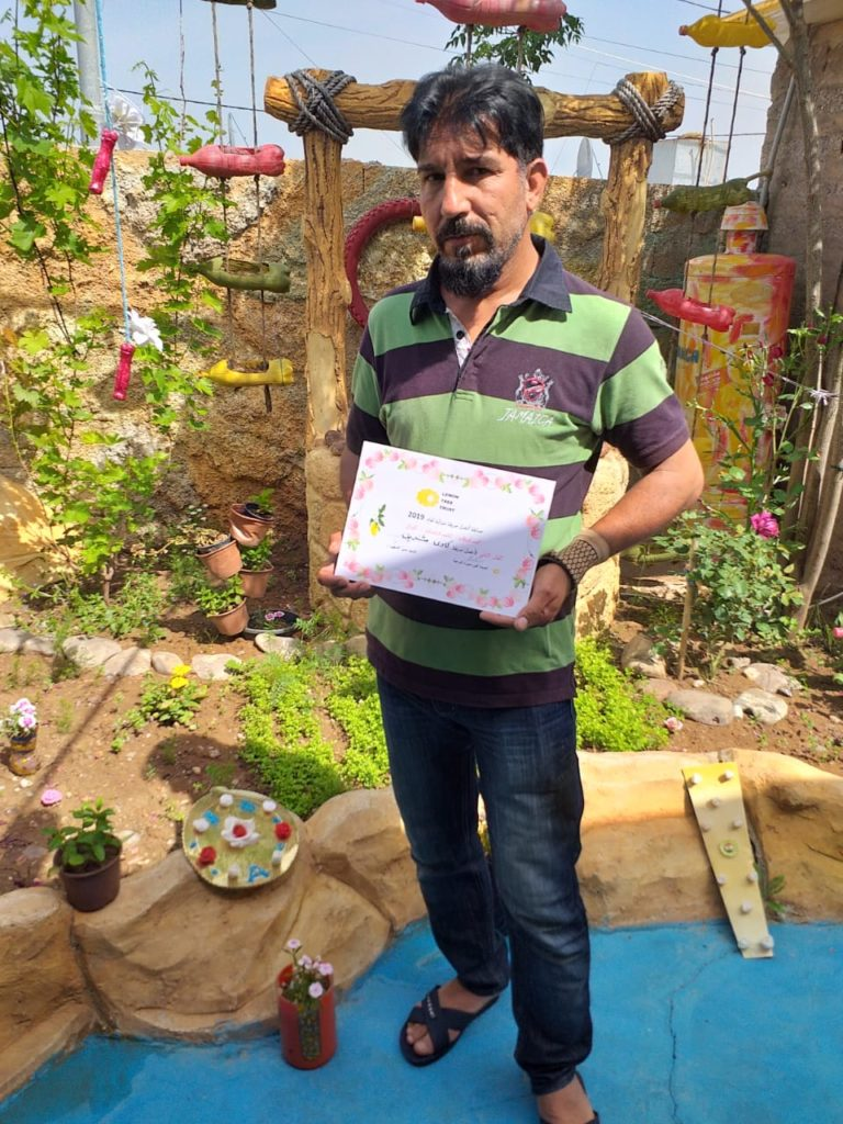 2019 Lemon Tree Trust garden competitions - Gawillan camp - runner-up - Kawa Sharif