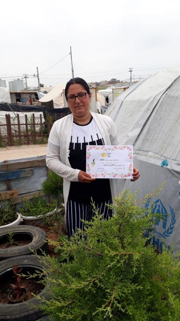 2019 Lemon Tree Trust garden competitions - Khanki camp - runner-up Khatim Hassan