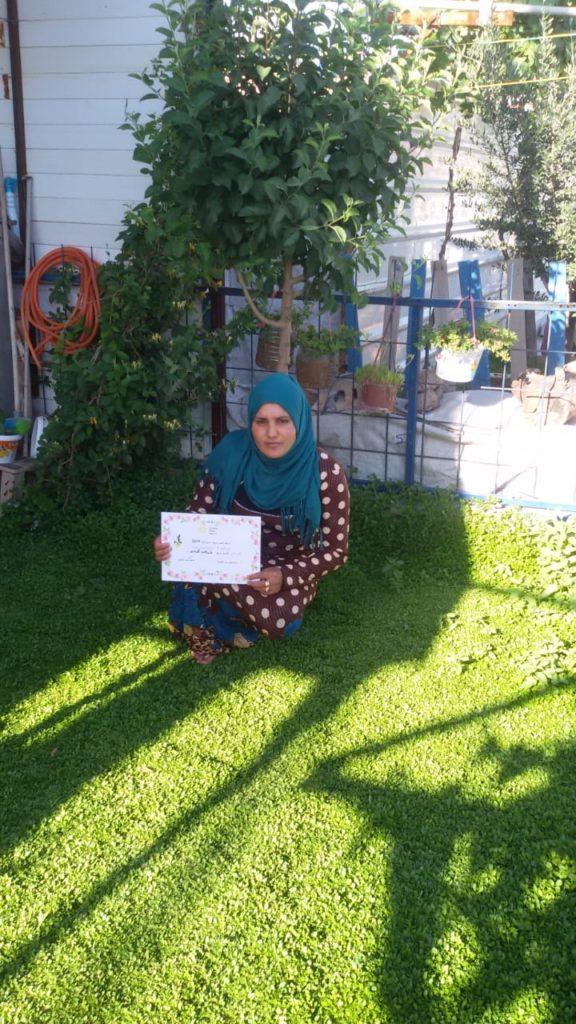 2019 Lemon Tree Trust garden competitions - Domiz 1 camp 2nd prize - Khnav Mahmood