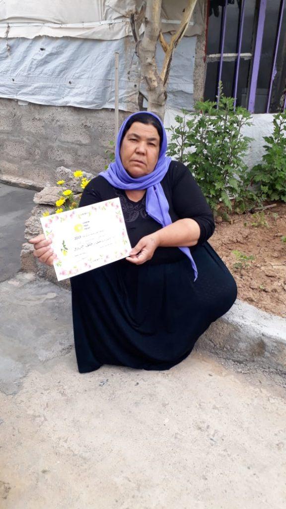 2019 Lemon Tree Trust garden competitions - Khanki camp - runner-up Kthr Jardo
