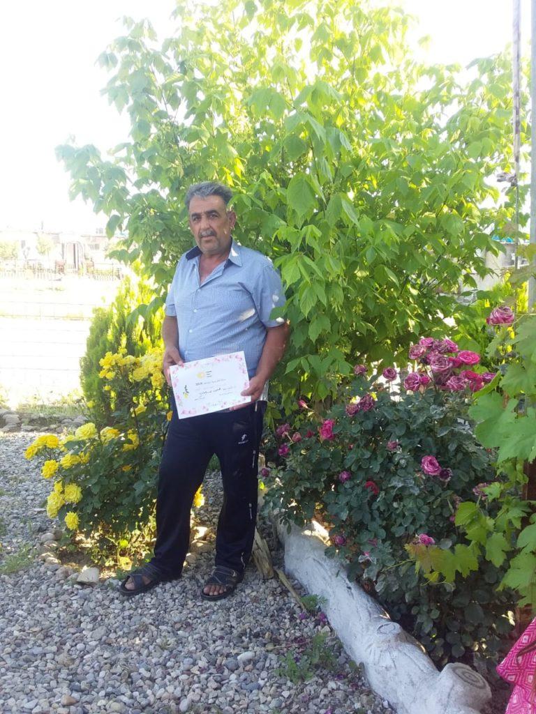 2019 Lemon Tree Trust garden competitions - Domiz 1 camp runner-up - Mahmod Sliman