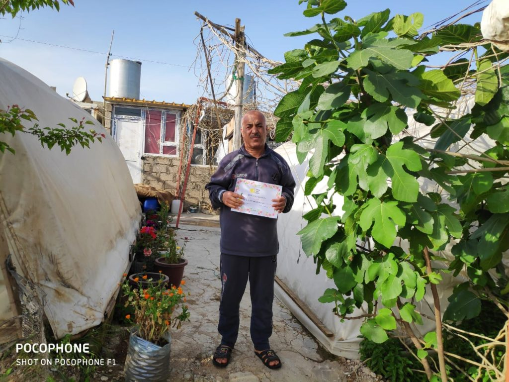 2019 Lemon Tree Trust garden competitions - Essian camp 2nd prize winner - Mal Allah