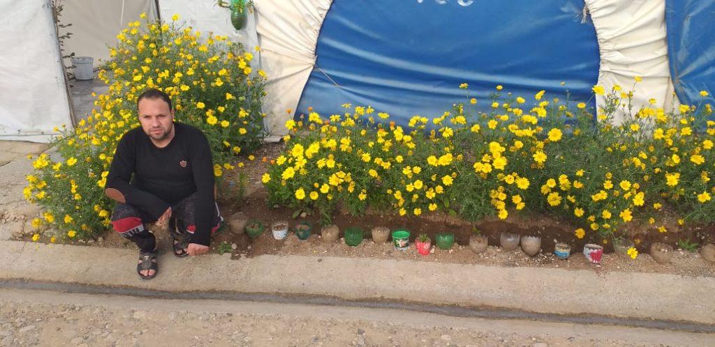 2019 Lemon Tree Trust garden competitions - Kabartu 2 camp - runner-up Saaid Rasho