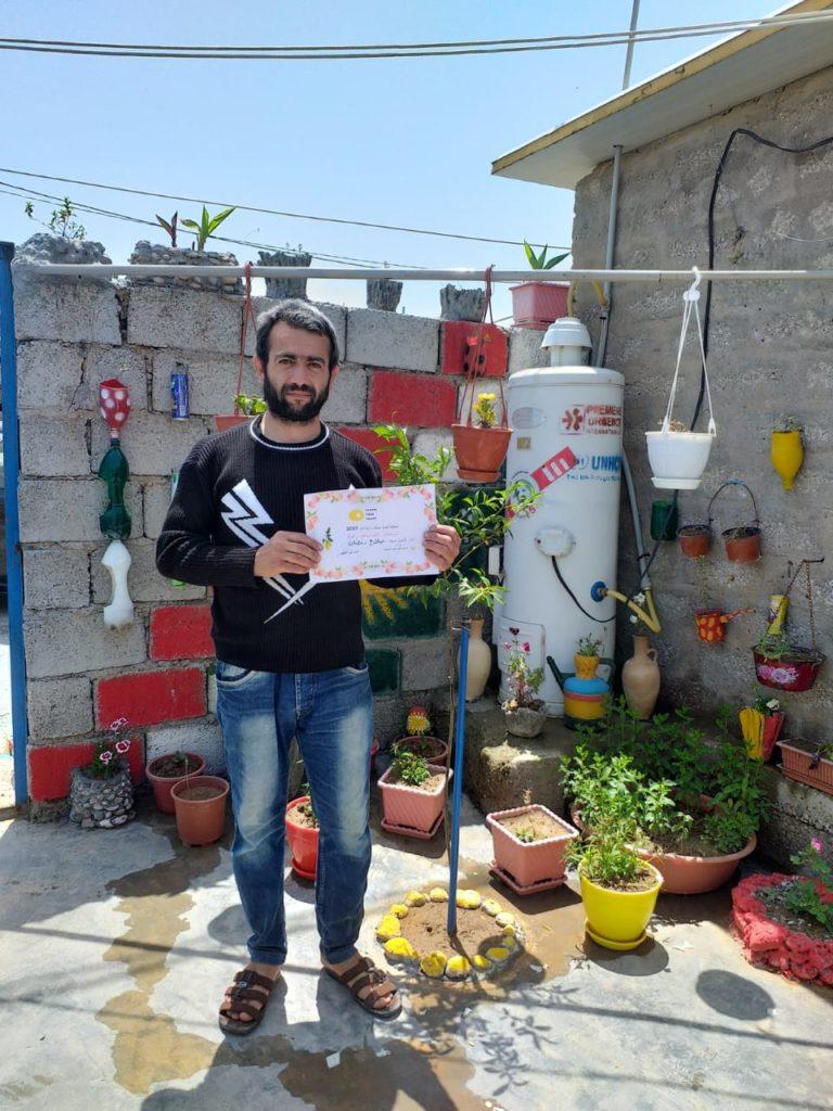 2019 Lemon Tree Trust garden competitions - Gawillan camp - runner-up - Salah Musa
