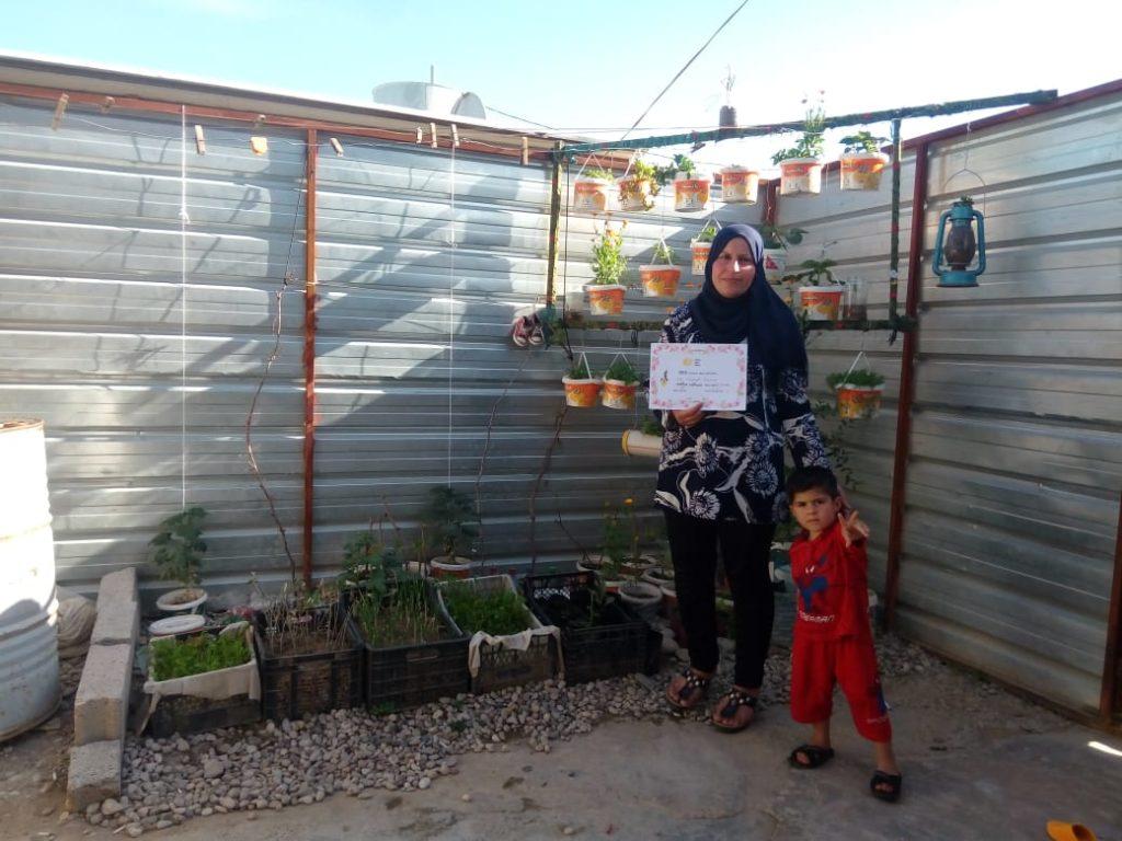 2019 Lemon Tree Trust garden competitions - Domiz 1 camp 1st prize - Salar Haji