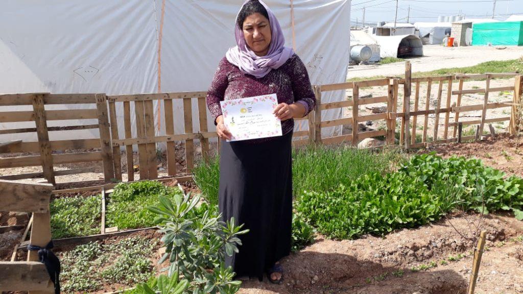 2019 Lemon Tree Trust garden competitions - Khanki camp - 2nd place prize winner Salih Mto