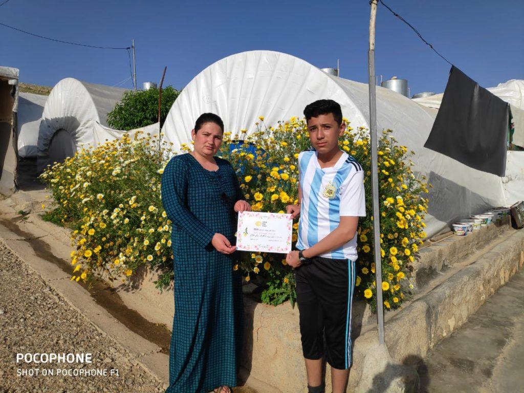 2019 Lemon Tree Trust garden competitions - Essian camp 3rd prize winner - Zahra Murad