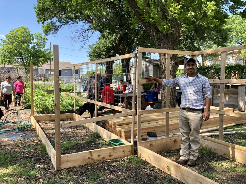 Vickery Meadow community gardeners in 2019 © Monica Rodriguez